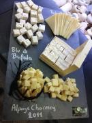 Blu di Buffala, Tomme des Pyrénées et Alpage de Charmey
