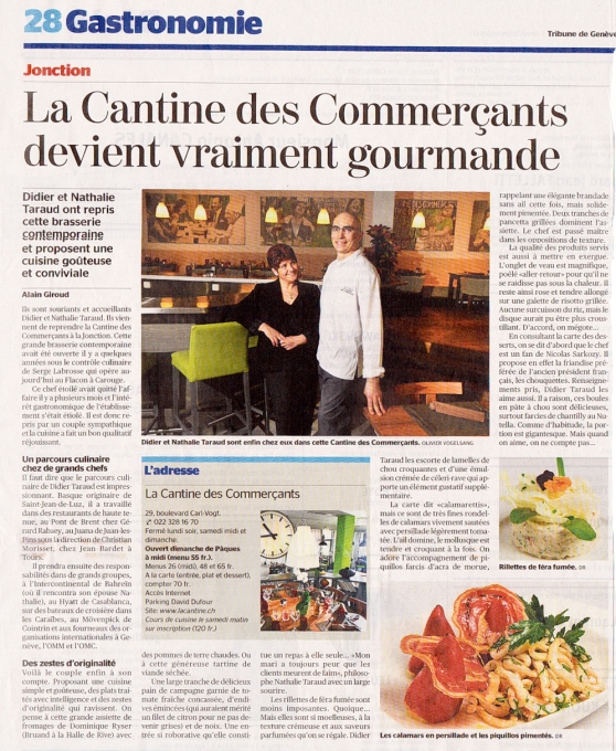 Cantine des Commerçants - Fromagerie Bruand