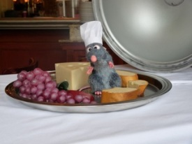 Un invité surprise sur mon plateau de fromage